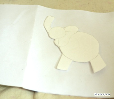 Mommy Labs elephant book craft 24