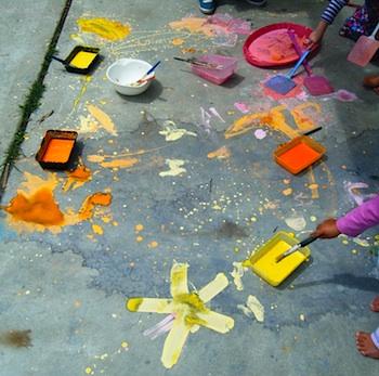 Let The Children Play sidewalk chalk potions
