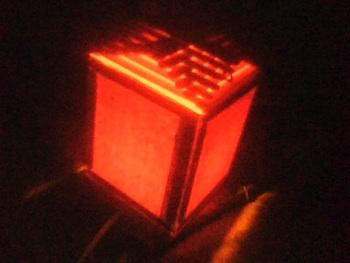 Our Little Corners popsicle stick lantern