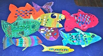 Se7en woven fish