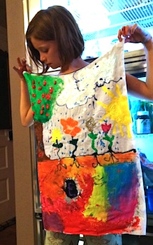 Mama Scout diy cape