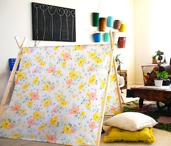 Grosgrain a-frame tent