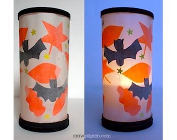 draw pilgrim easy halloween lantern - How To Make Halloween Lanterns