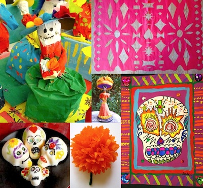 Day of the Dead Crafts for Kids Things to Make and Do Crafts
