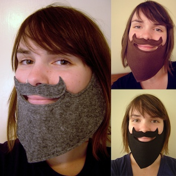 Craftzine fake beard