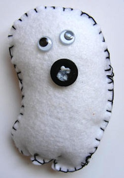 Activity Village felt toy ghost