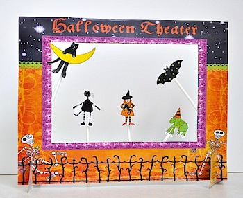 The Mother Huddle printable halloween cereal box theater