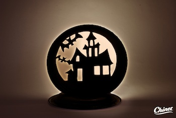 Paper Plate Halloween Silhouette Things To Make And Do