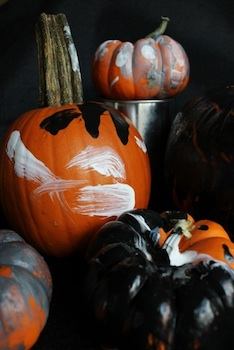 The Artful Parent pumpkin painting