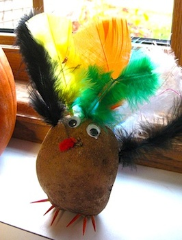 potato head turkey