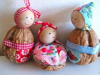 walnut shell babies craft