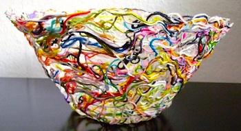 Elisabeth Andree thread bowl