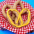 felt pretzel