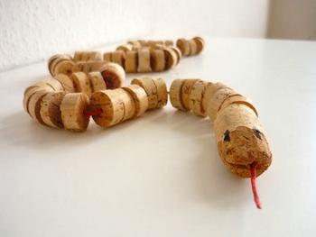 Domestic Candy cork snake