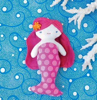 Wee Wonderful mermaid pattern