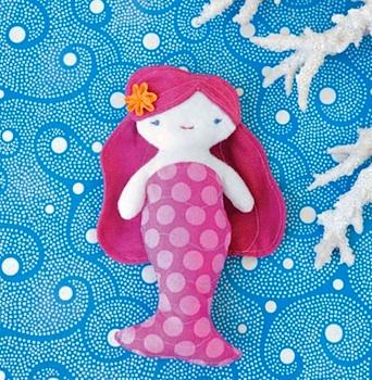 Wee Wonderful mermaid pattern