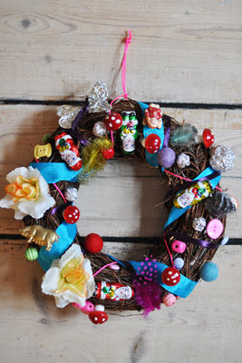 Lilla A christmas wreath