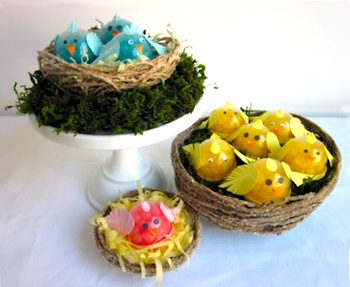 The Crafts Dept. easter chick treats