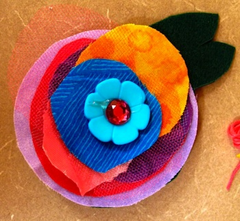 Laugh Paint Create mothers day corsage