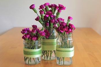 Modern Parents Messy Kids yarn vases