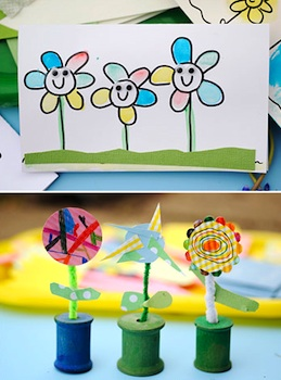 Craft Ideas Year Olds on Katherine Marie Photography Flower Craft Ideas