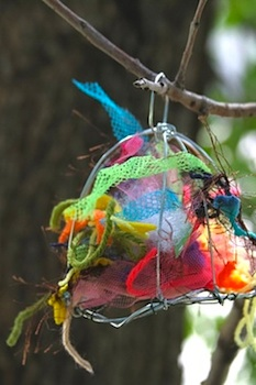 Whimsy Love bird nest helper
