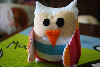 Whimsy Loft sock owl