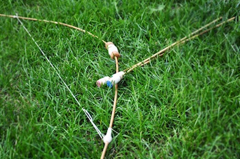 Imagine Childhood bows and arrows
