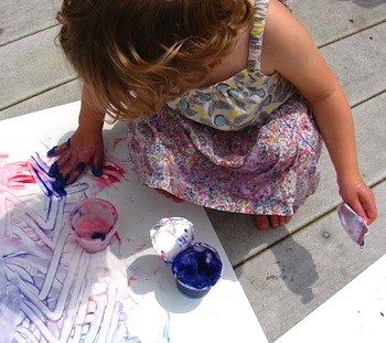 Aesthetic Outburst pudding finger paint