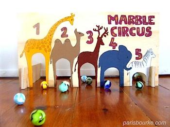 Paris Bourke marble circus