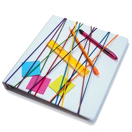 Family Fun rubber band storage notebook