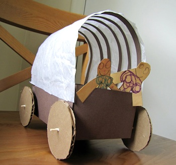Indietutes covered wagon