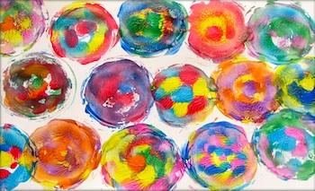 Putti Prapancha spin art
