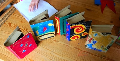 Playing By The Book paper box books