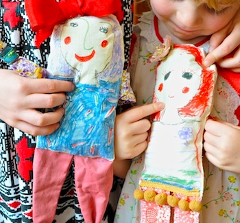 cloth doll tutorial