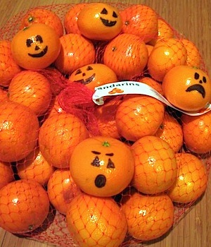 Under Construction halloween mandarin oranges