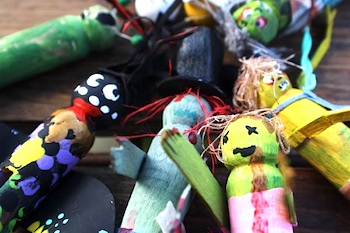 clothespin zombie puppet craft favors and crafts things to make 3666
