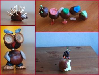 O Matko! conker figures
