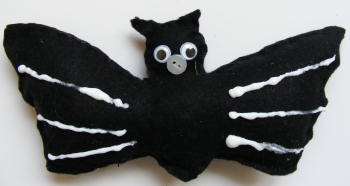 Activity Village felt toy bat