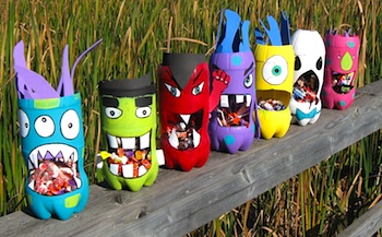 Craftberry Bush monster candy holders