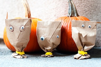 Andiland paper bag owls