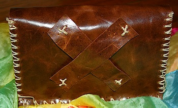 Moment To Moment leather satchel diy