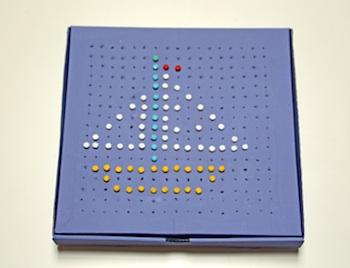 Pinta La Lluna box and brad pin boards