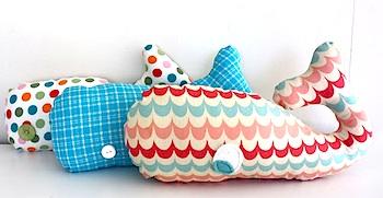 I Heart Nap Time whale softie
