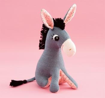 Etsy Blog donkey softie