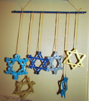 The Little Things star of david mobile hanukkah craft