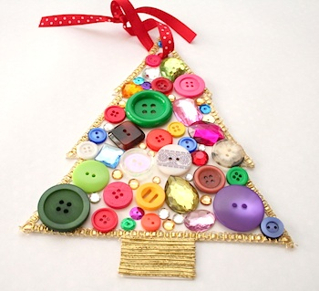 Charlotte's Fancy button bling tree