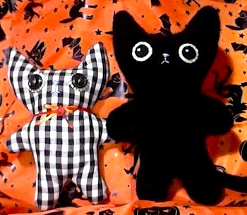 Etsy Blog black cat softie