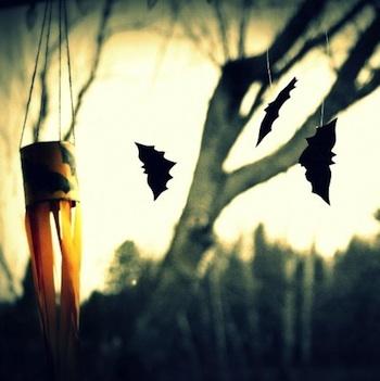 Wabi-Sabi Wanderings bat windsock