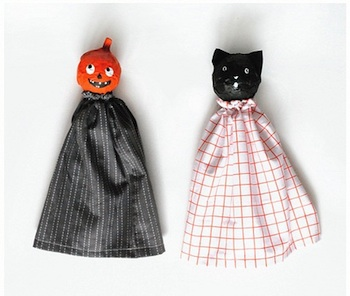 Mer Mag halloween puppets
